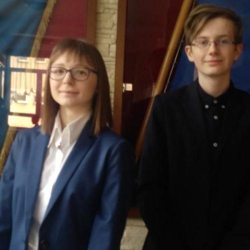 Nasi uczniowie w ostatnim etapie Wojewódzkich Konkursów Przedmiotowych - gimnazjum